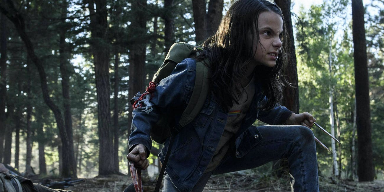 Laura's claws in the new movie 'Logan.'
