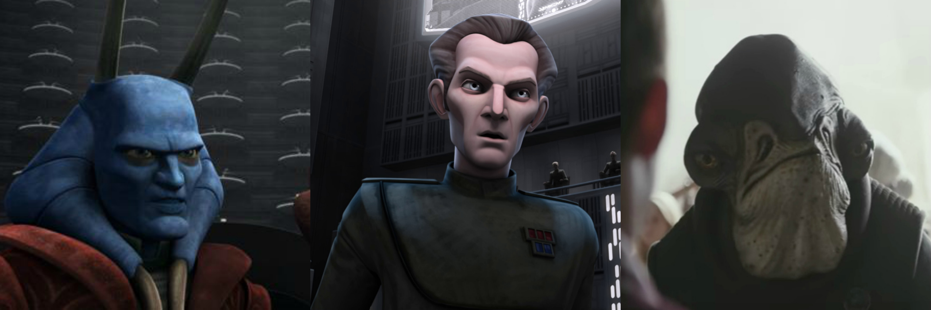 Stanton has voiced Mas Amedda on 'Star Wars: The Clone Wars' animated series as well as Admiral Wilhuff Tarkin in 'Clone Wars' and 'Rebels,' as well as Admiral Raduus in 'Rogue One.'