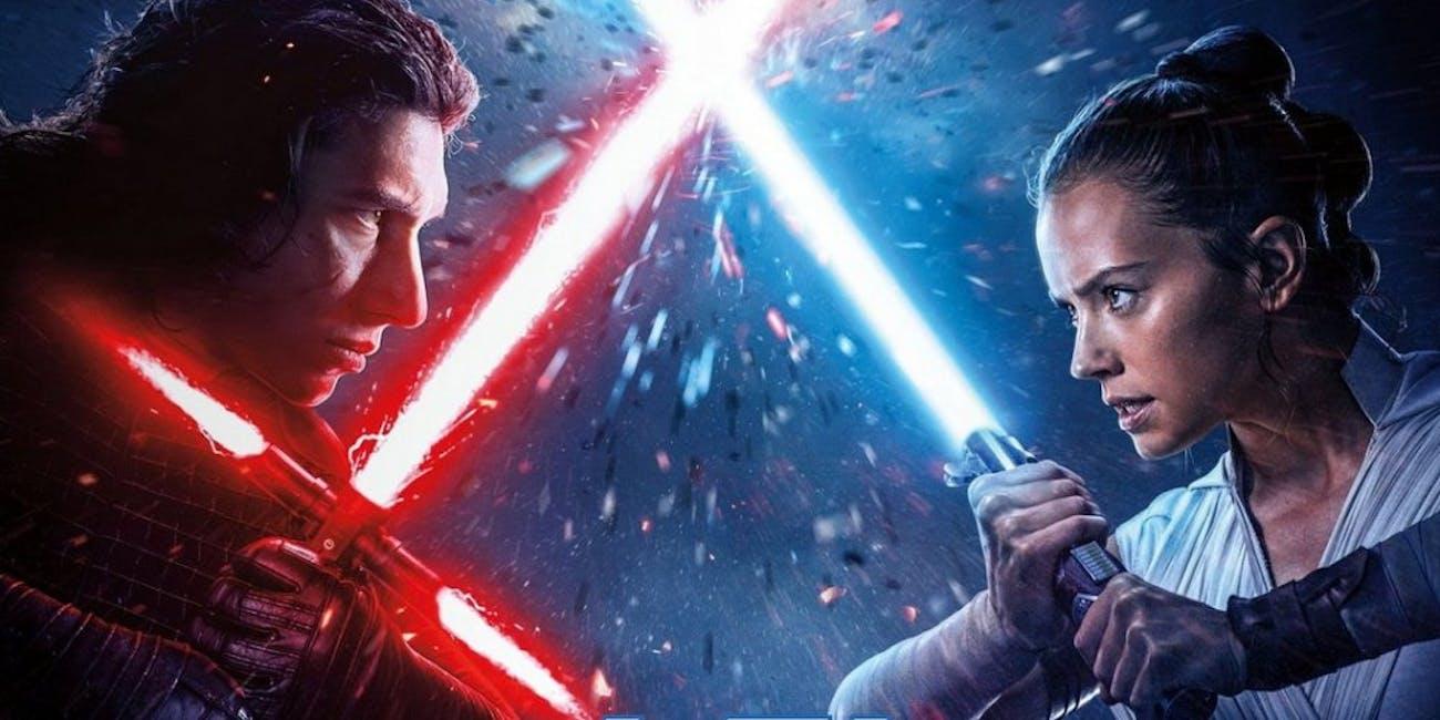 Rey versus Kylo