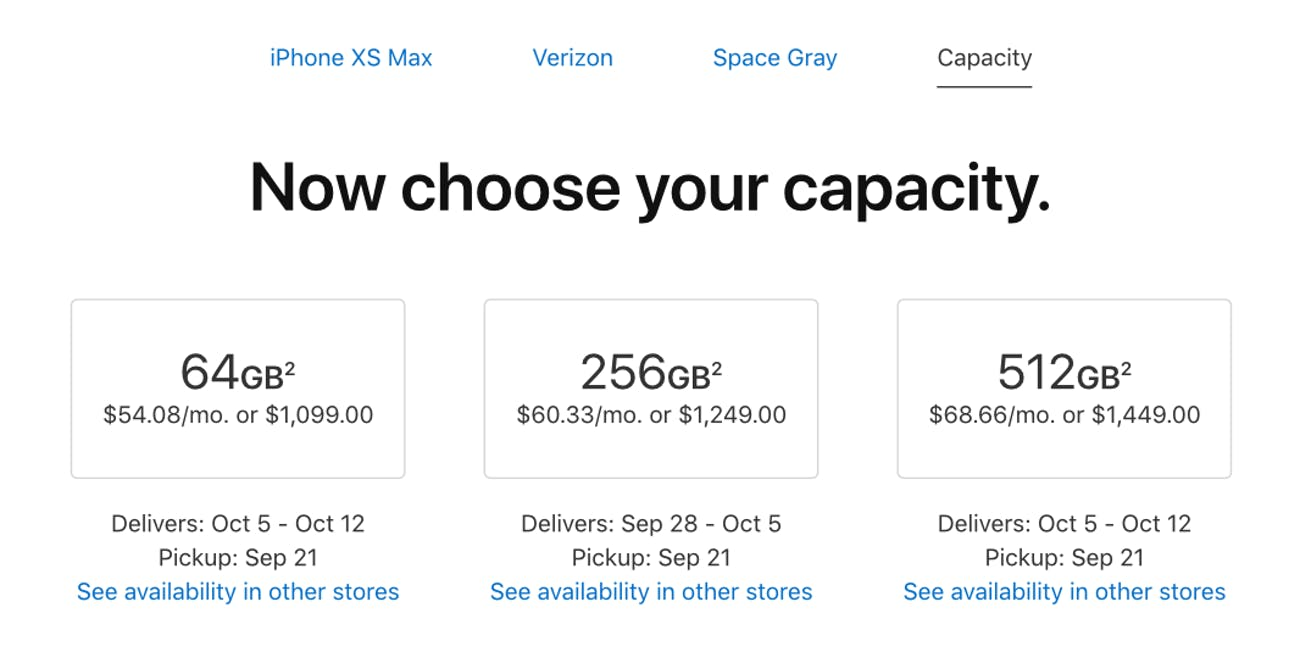 iPhone XS Max Release Date: Apple Unveils Shipping Estimates