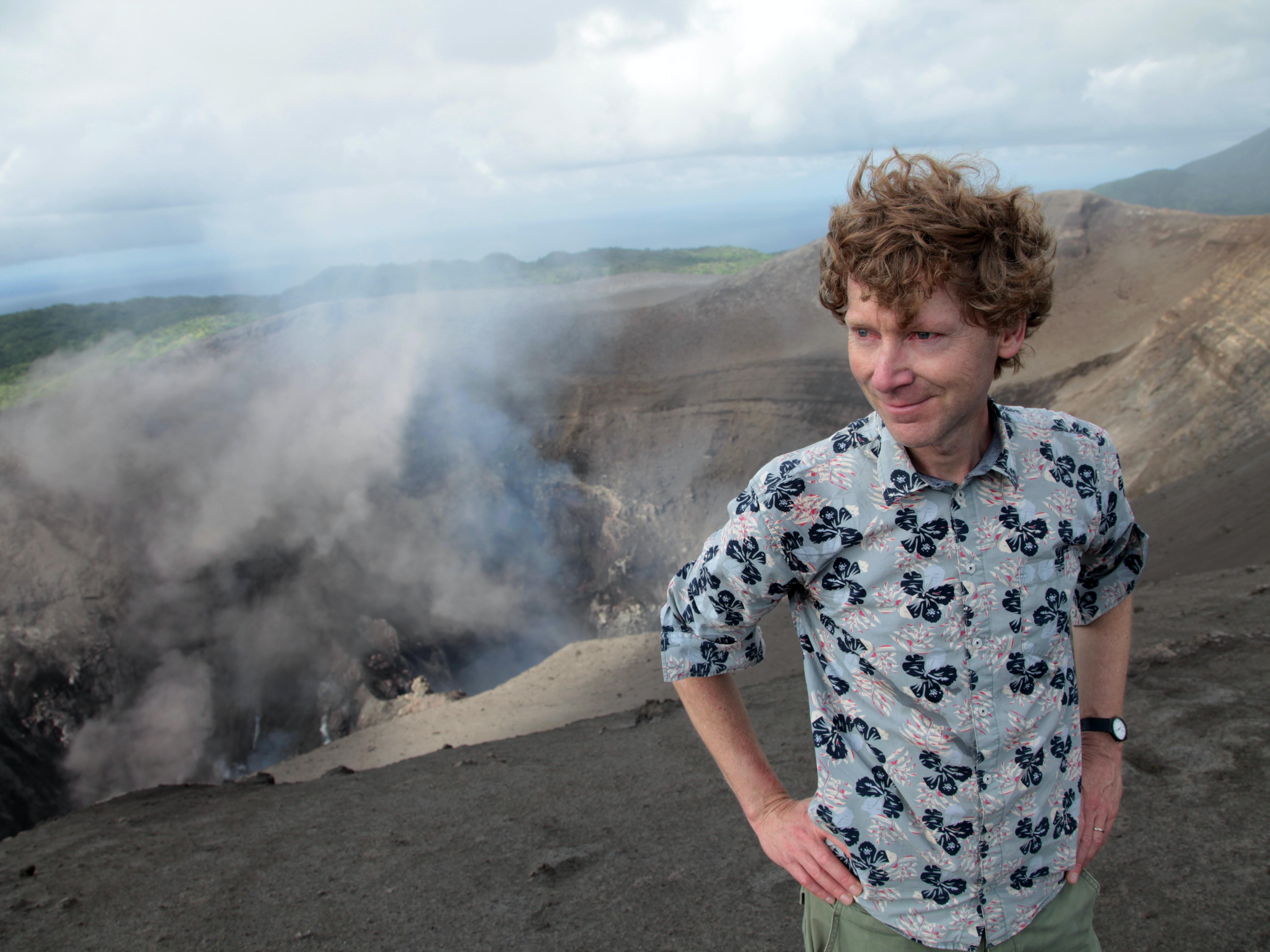 Clive Oppenheimer in Vanuatu.