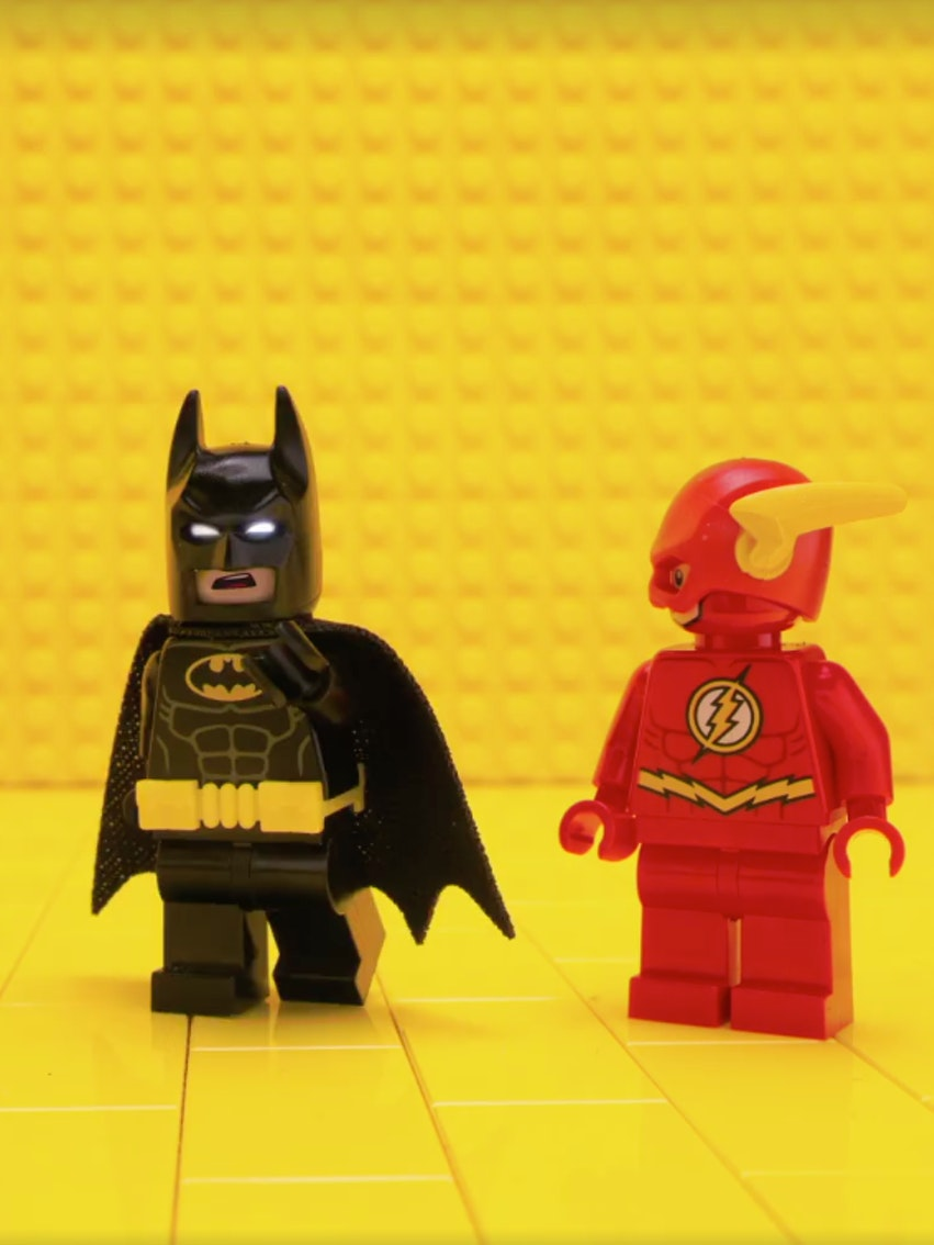 Lego Arrow Supergirl Batman Flash