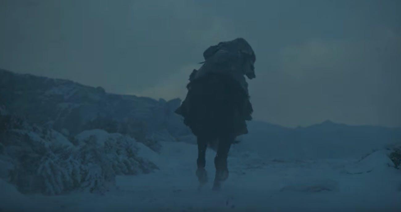 Kit Harington in 'Game of Thrones' Season 7