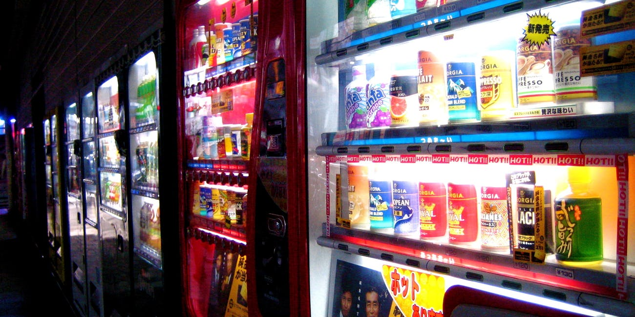 vending machine psychology gratification delay
