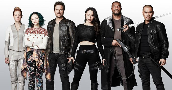 The 'Dark Matter' crew gears up for Season 3.