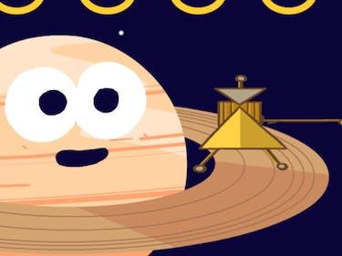 The Cassini Spacecraft Google Doodle Celebrates the Doomed Probe