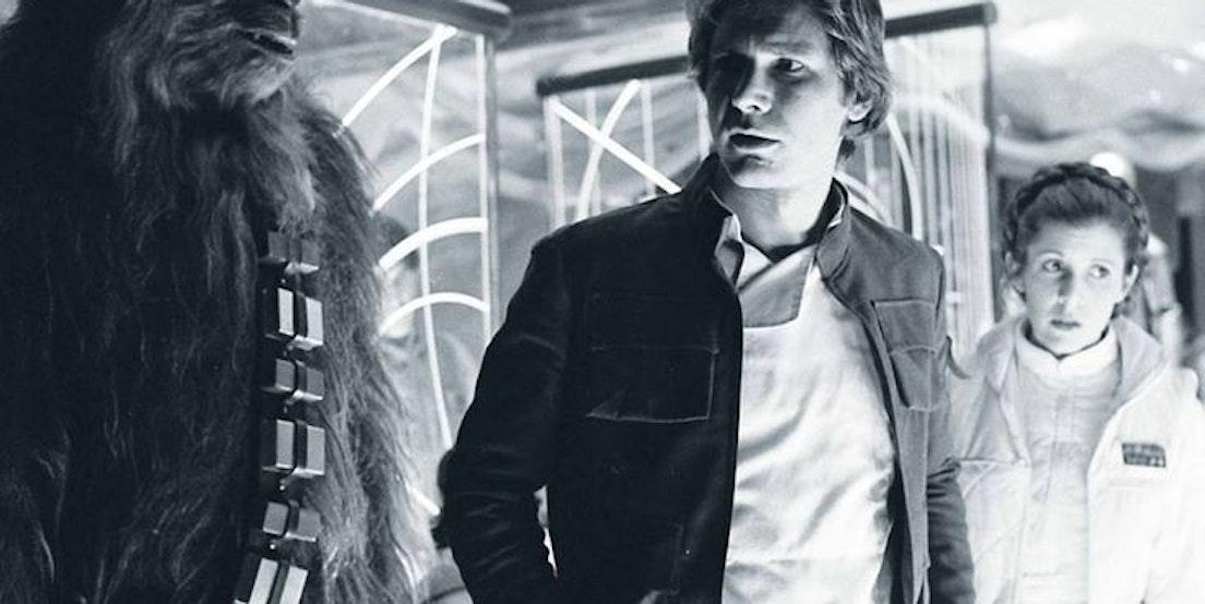 Han Solo Princess Leia and Chewbacca