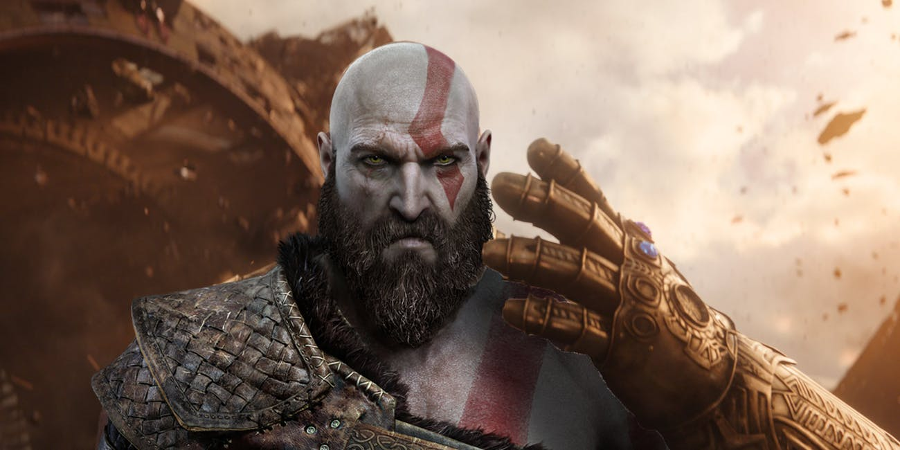 Kratos can sort of become Thanos in the new 'God of War'.