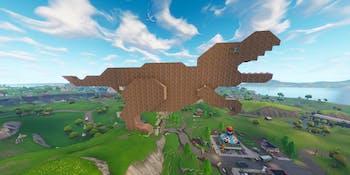 'Fortnite' Dinosaur