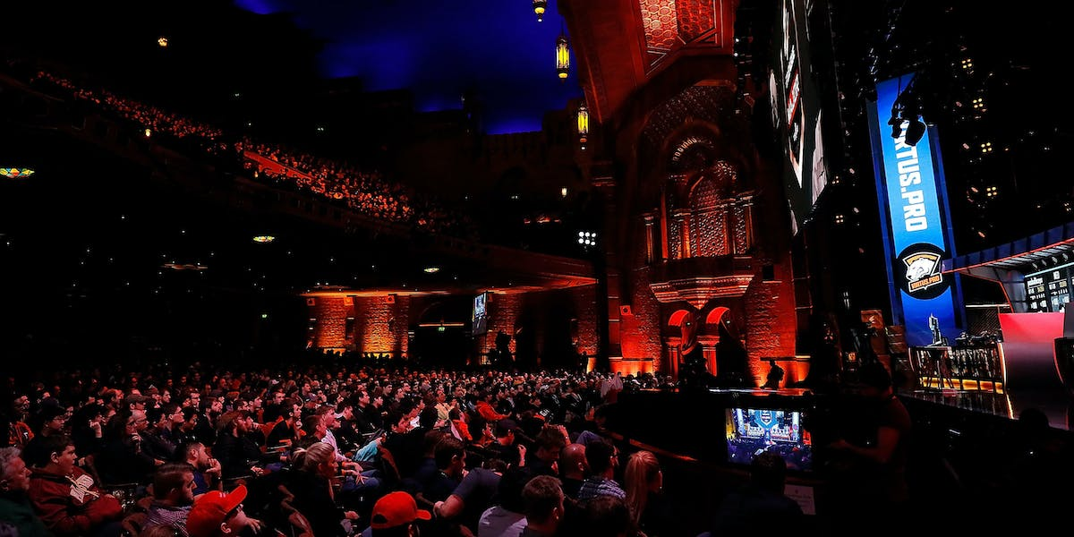 ATLANTA, GA - JANUARY 29: A general view of play during the ELEAGUE: Counter-Strike: Global Offensive Major Championship finals at Fox Theater on January 29, 2017 in Atlanta, Georgia. (Photo by Kevin C. Cox/Getty Images)