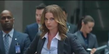 """Sharon Carer in """"Captain America: The Winter Soldier"""""""