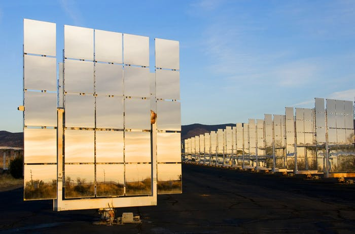 National Solar Thermal Test Facility generates experimental engineering data.