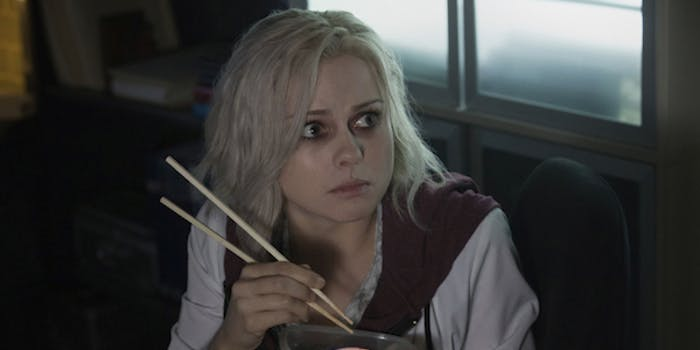 "'iZombie' puts Liv on ""hot mess brain"""