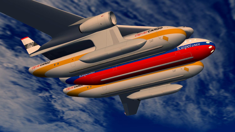 When Pod Transport Proliferates, Planes Will Look Like