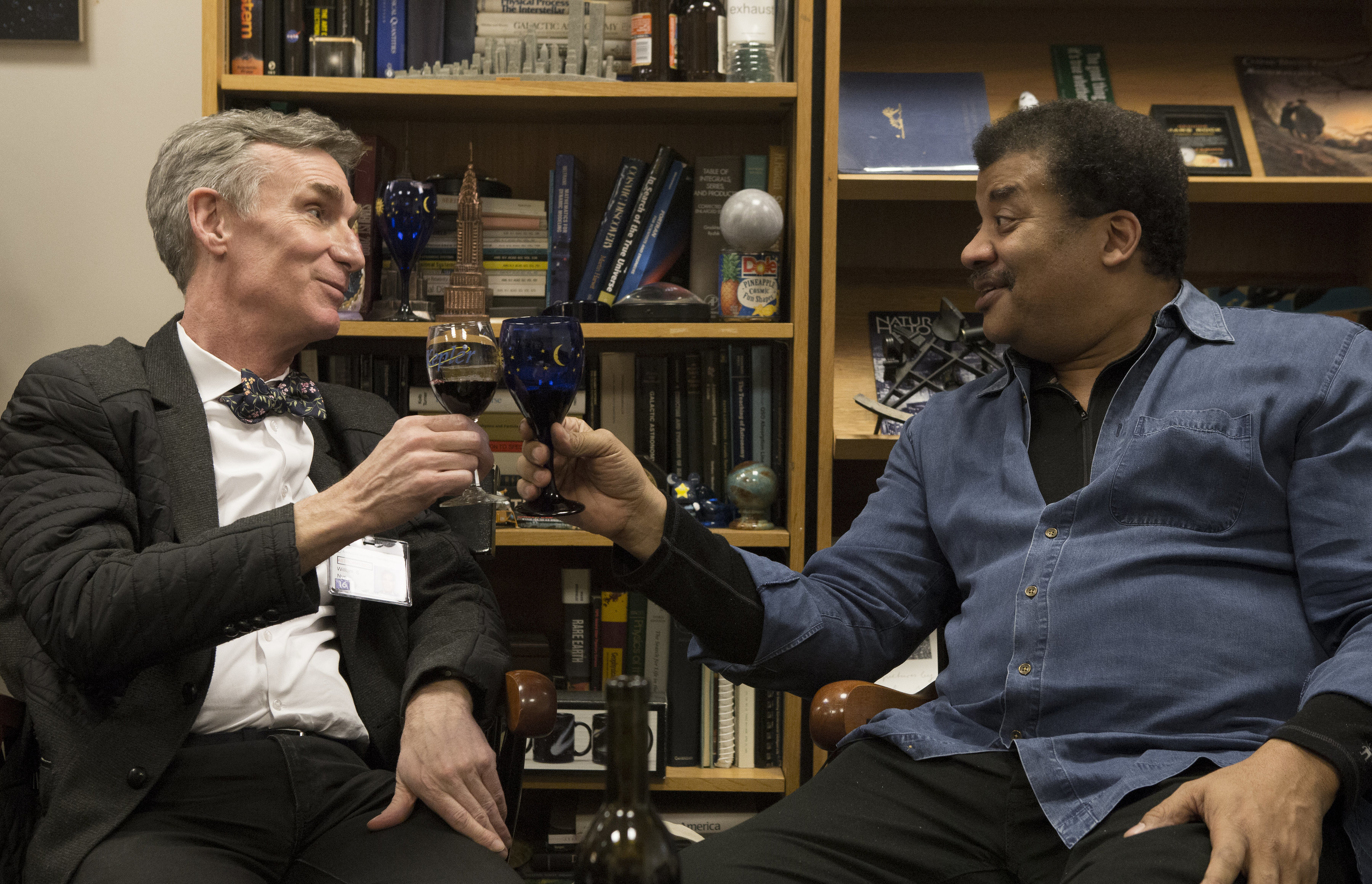 Nye and Neil deGrasse Tyson