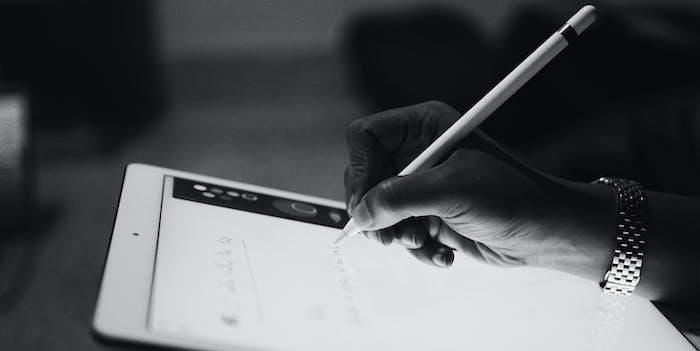 ipad apple pencil tablet