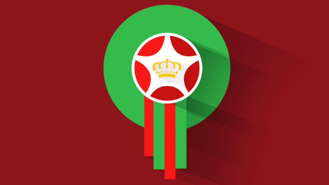 Morocco national footbal team crest