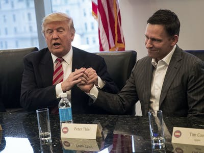 Peter Thiel Is Libertarian and Pro-Trump, But Silicon Valley Never Will Be