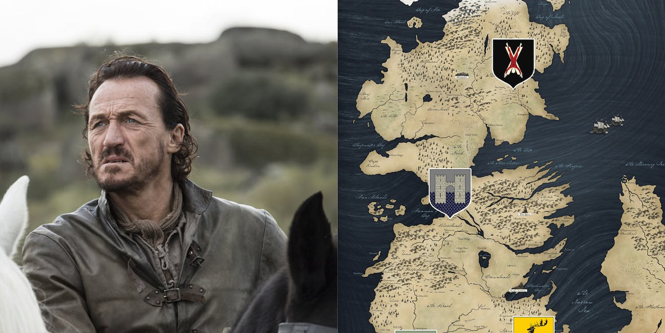 Jerome Flynn as  Bronn in 'Game of Thrones' Season 7