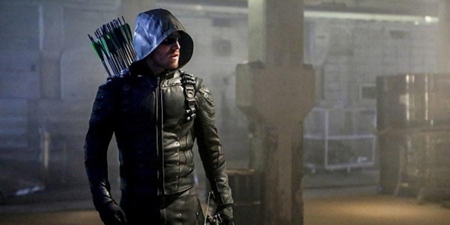 Arrow season five premiere.