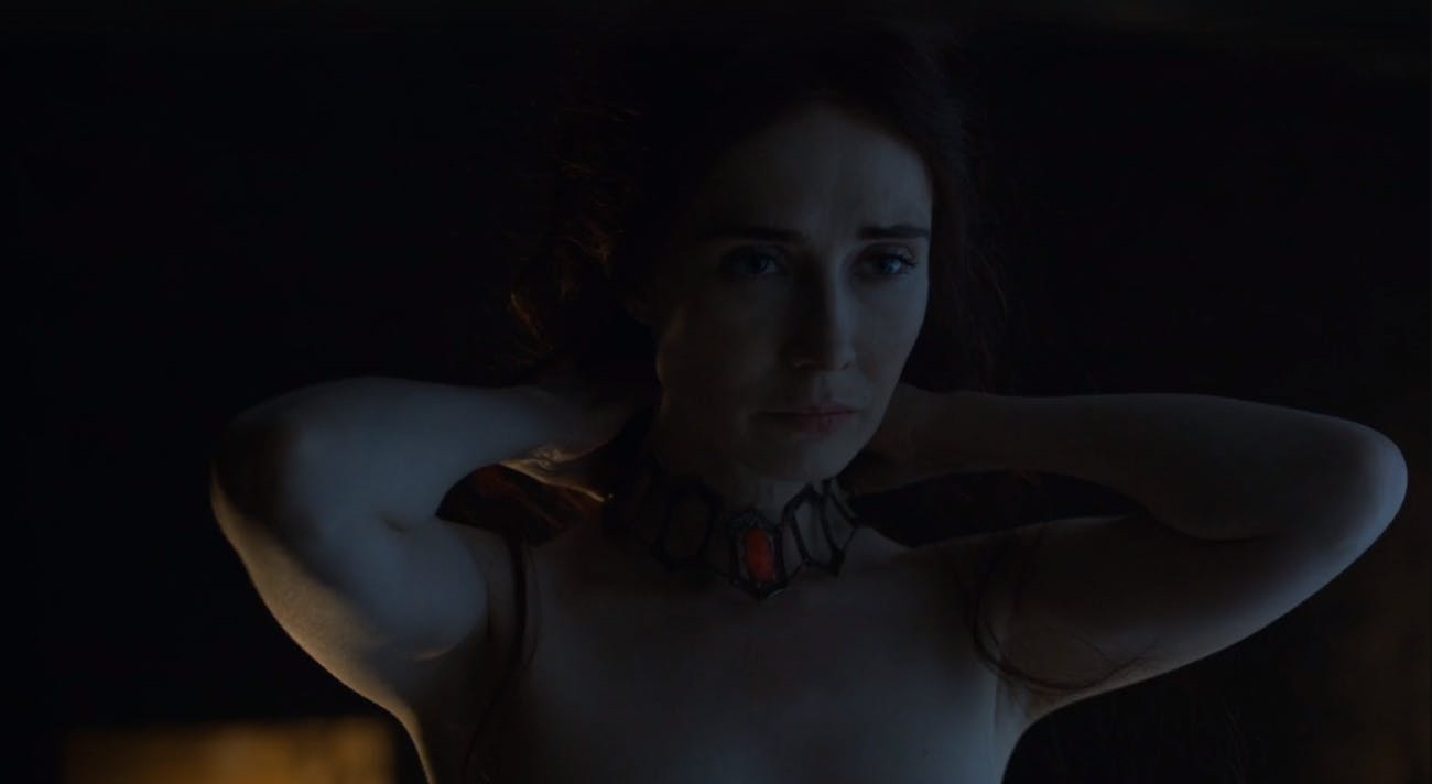 How That One Melisandre Scene Changed Game Of Thrones Inverse