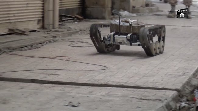 ISIS playstation-controller driven suicide drone.