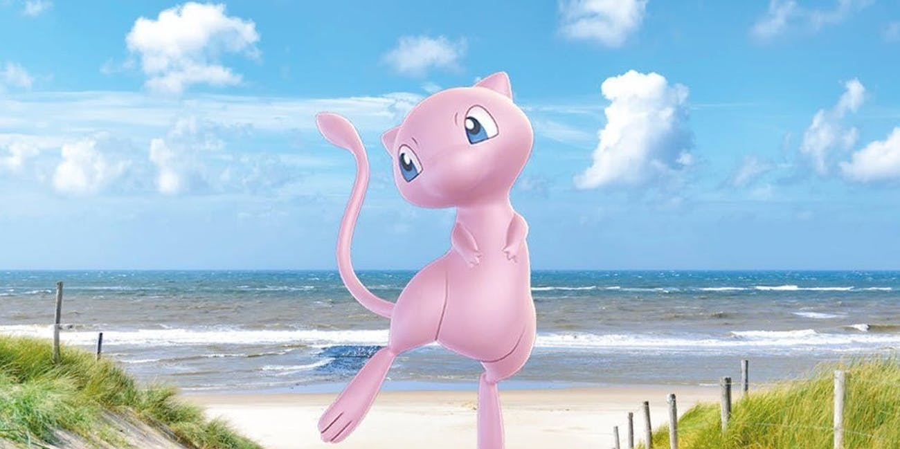 Pokemon Let's Go Mew