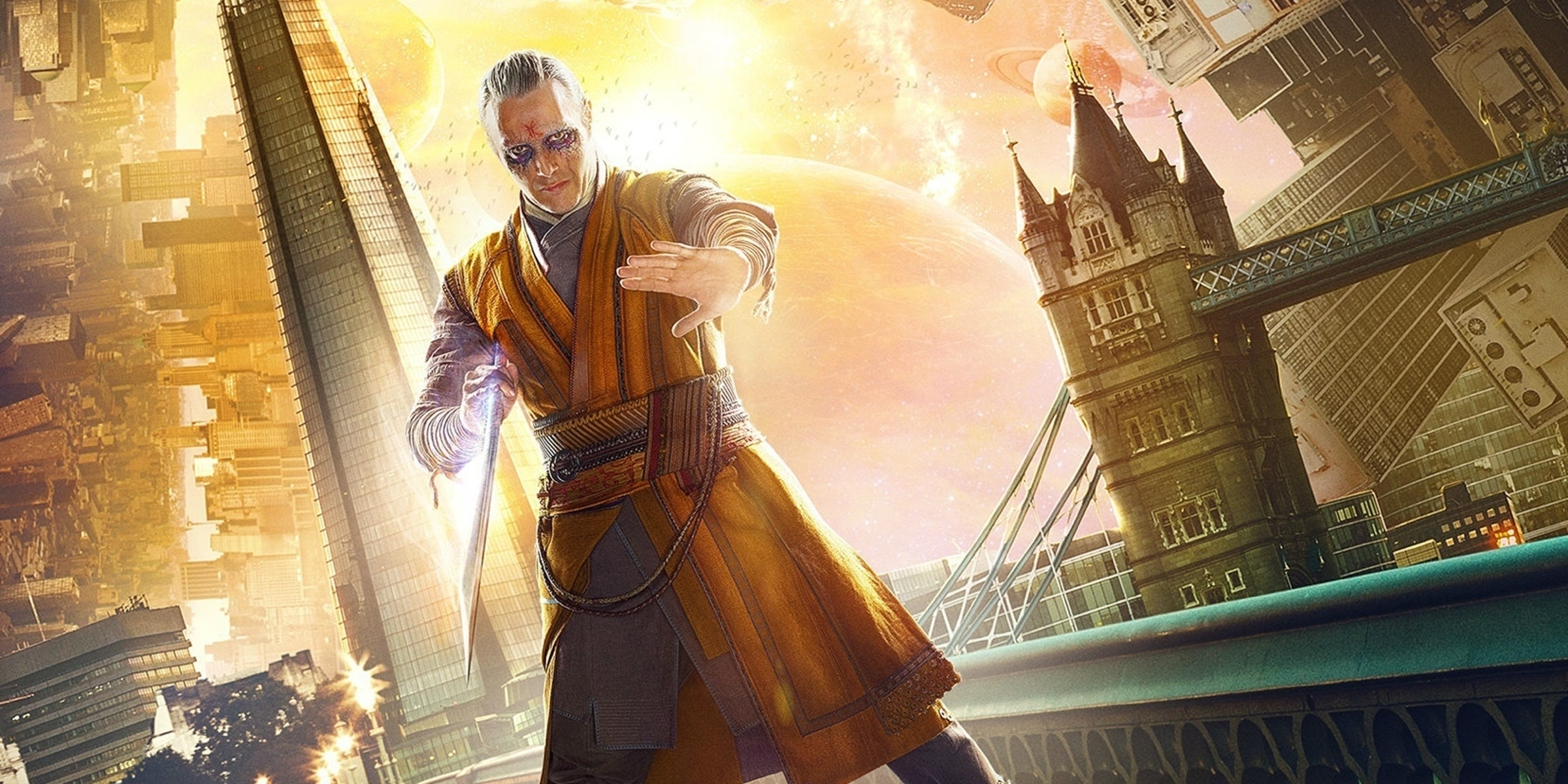 Mads Mikkelsen as Kaecilius for Marvel's Doctor Strange