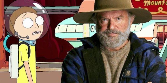'Rick and Morty' Season 4 Sam Neill