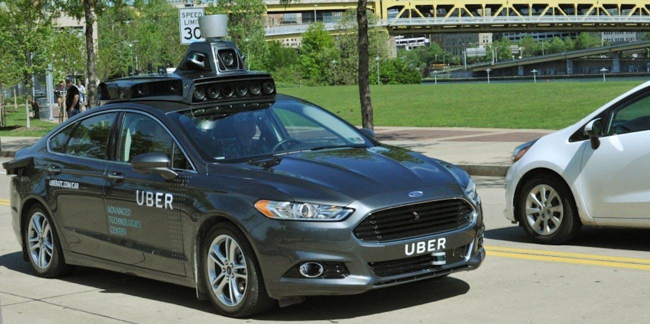 The Ride Share Company S Autonomous Car Is A Modified Ford Fusion
