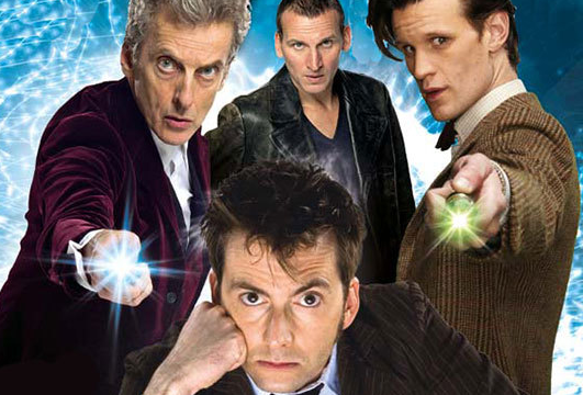 "All four ""modern"" Doctors."