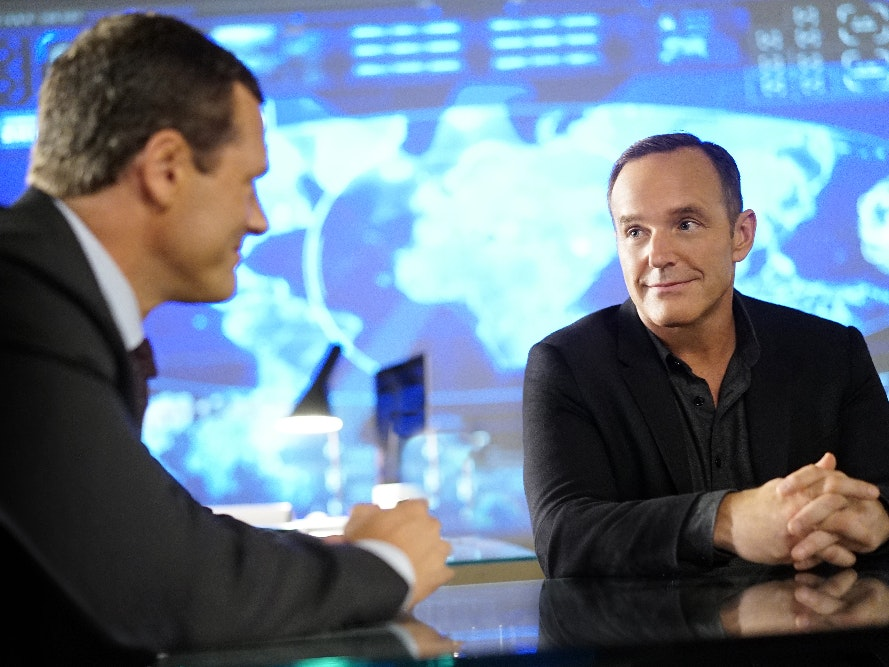 Coulson Meets the Creepy New Director in 'Agents of SHIELD'