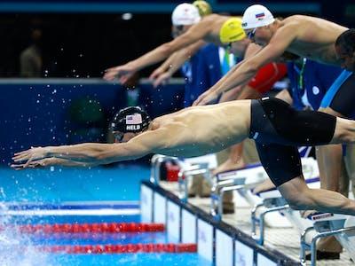 Do Olympic Virgins Have Beginner's Luck?