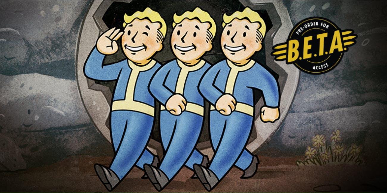 Fallout 76 splash page
