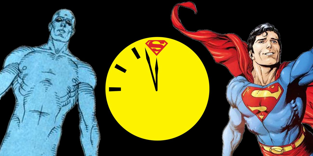 DC Comics Watchmen Rebirth Doomsday Clock