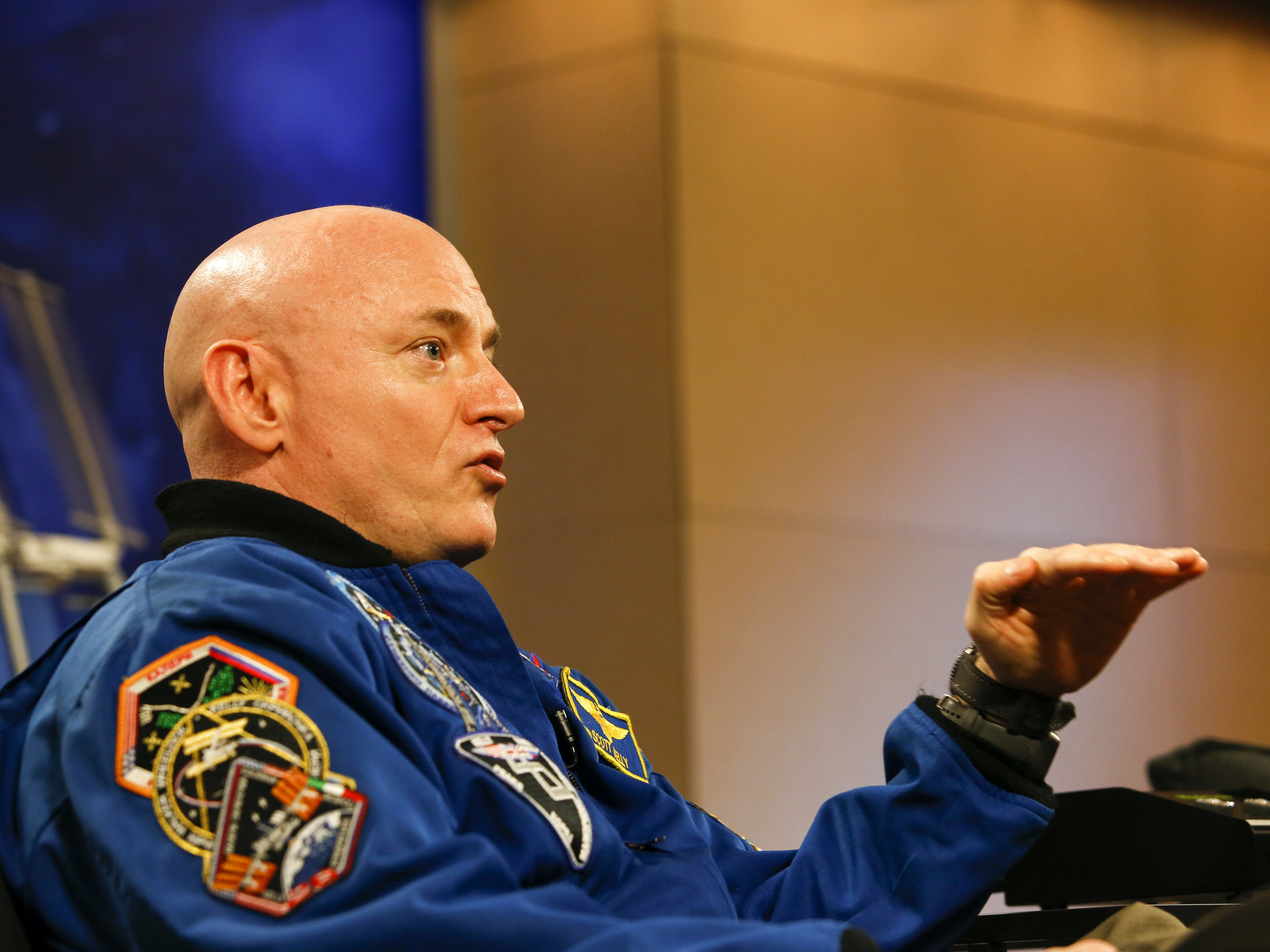 Scott Kelly Gets a Movie Deal about His Year in Space