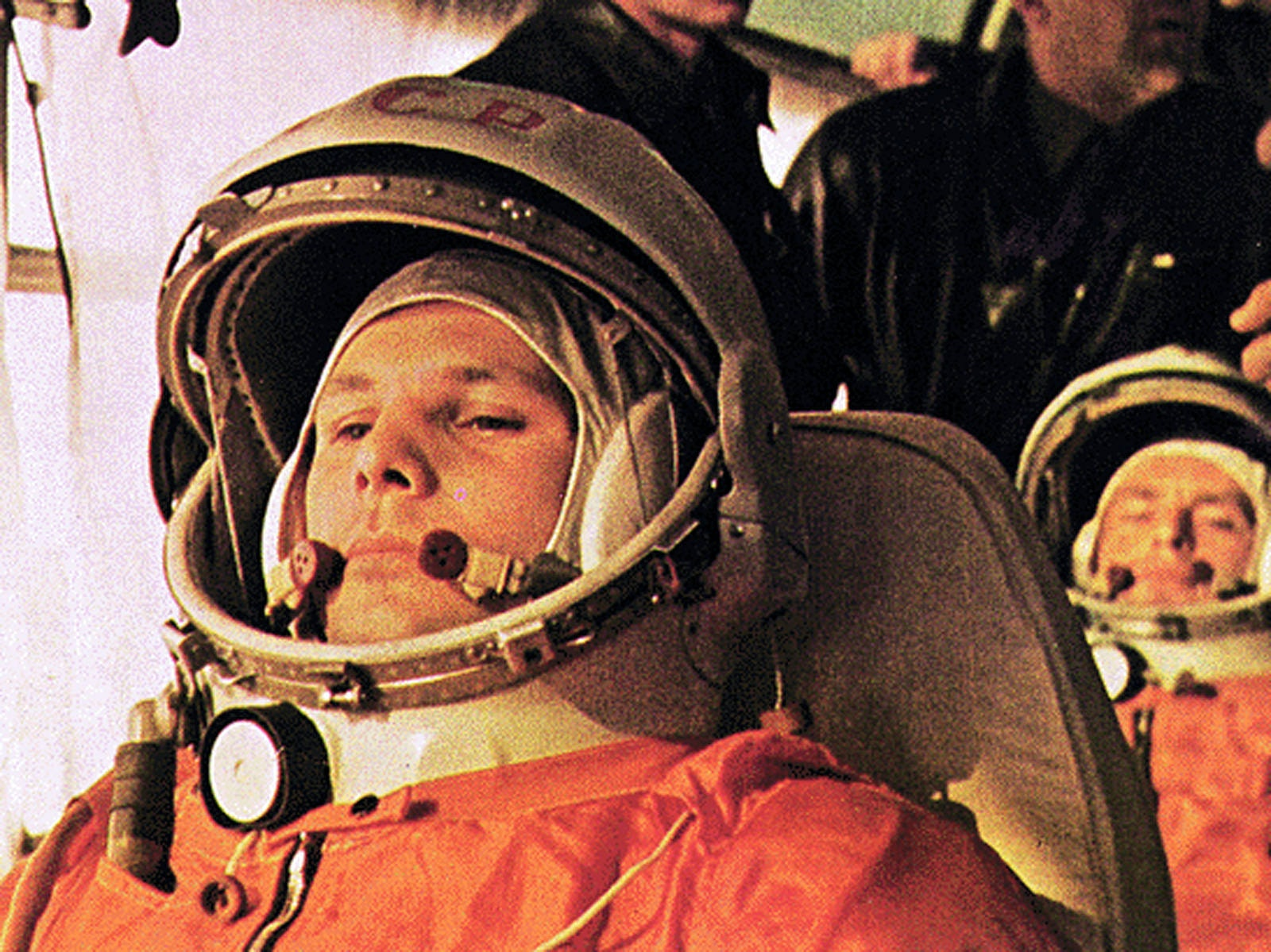 On what did Gagarin fly into space