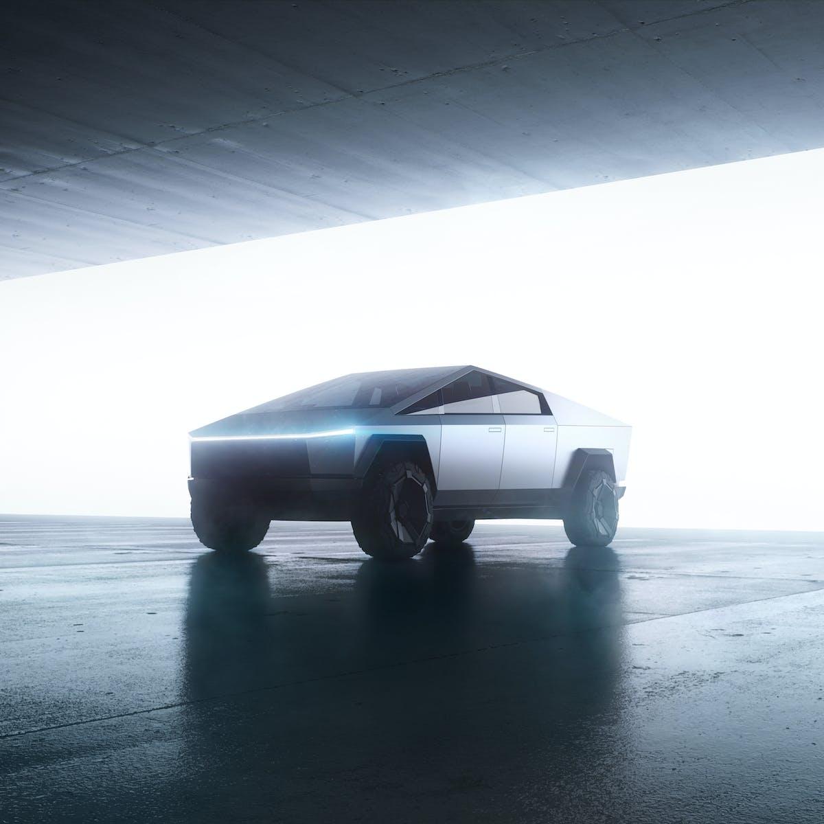 Tesla Cybertruck: Elon Musk sets 'insane' target for design's efficiency