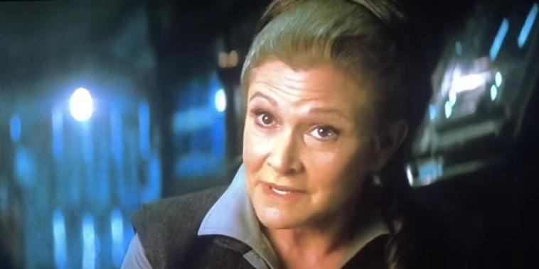 Deleted 'Force Awakens' Scene Explains Leia's Senate Trouble