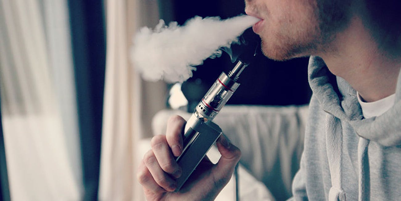 E-cigarettes, vaping