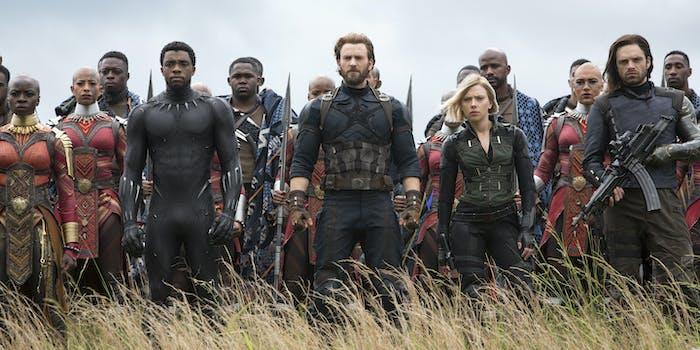 Avengers Infinity War MCU Marathon