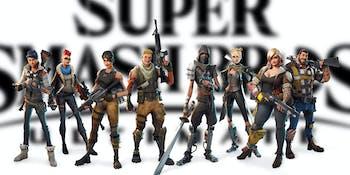 Smash Bros Fortnite
