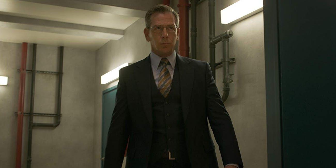 Ben Mendelsohn as Talos in human form in Marvel's 'Captain Marvel'