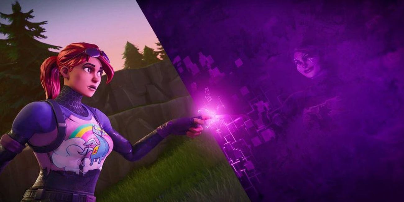 'Fortnite' Purple Cube