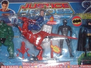 The 10 Worst Foreign Superhero Toy Knockoffs