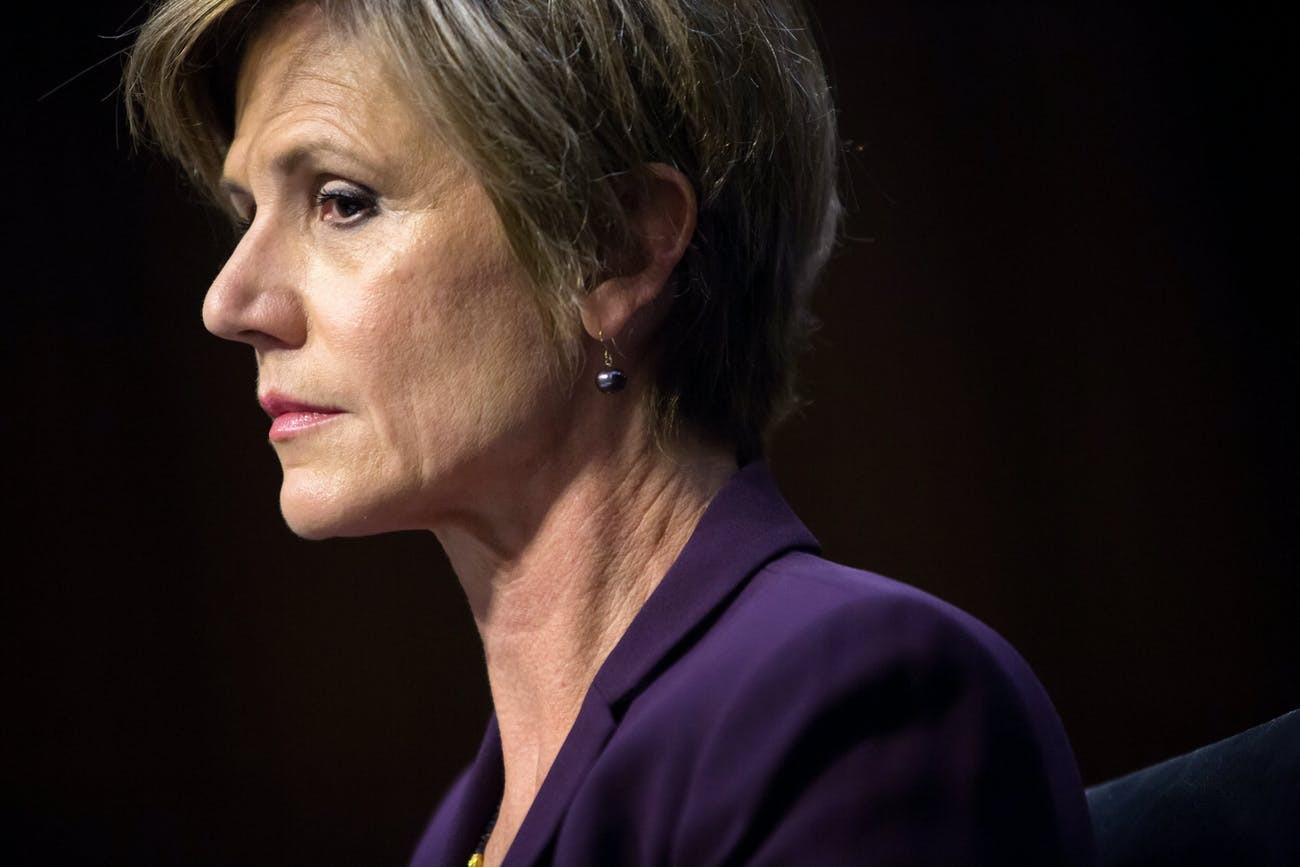 Sally Yates Senate