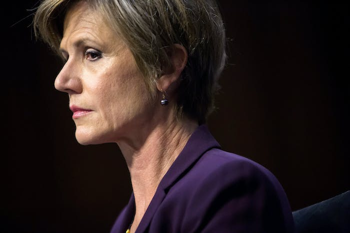 Sally Yates Senate