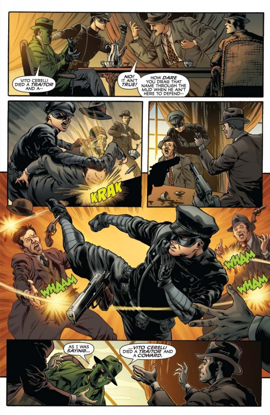 From Mark Waid's 'The Green Hornet' #11