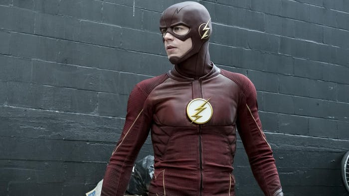 Grant Gustin as Barry Allen on 'The Flash'.