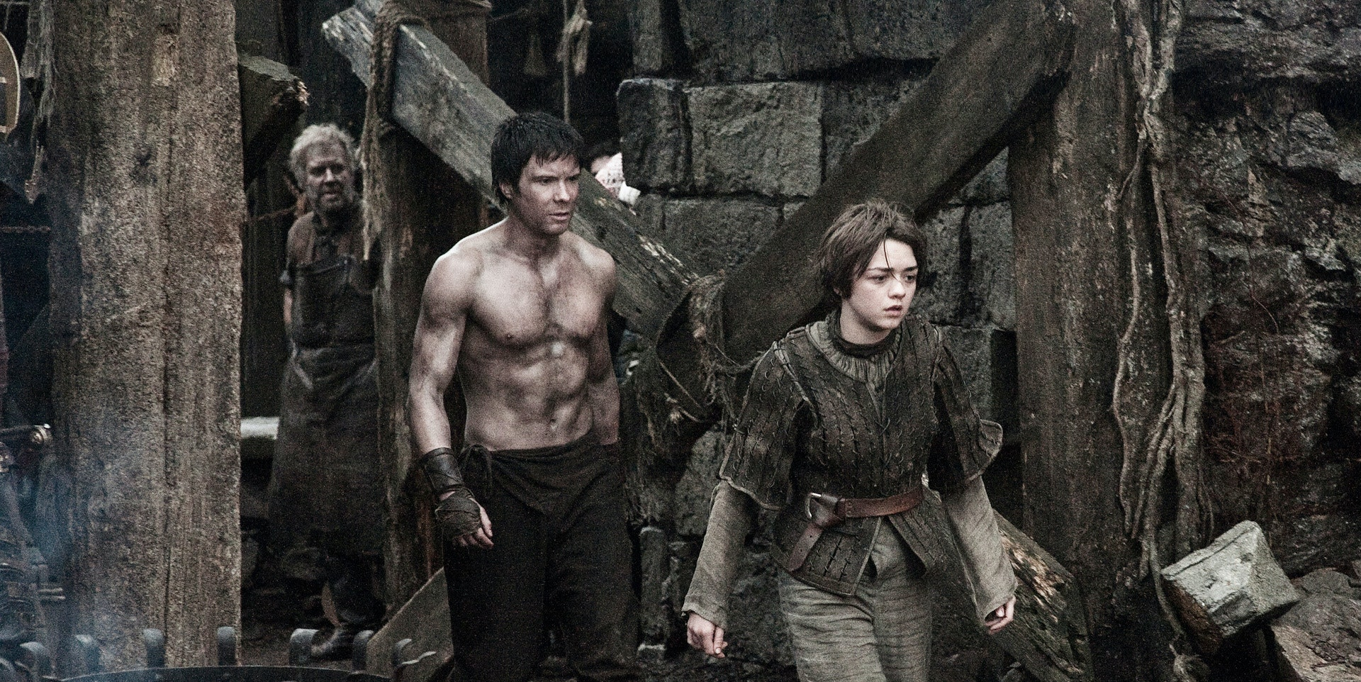 Arya and Gendry